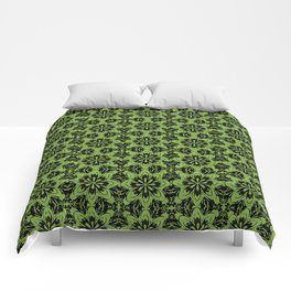 Greenery Floral Comforters