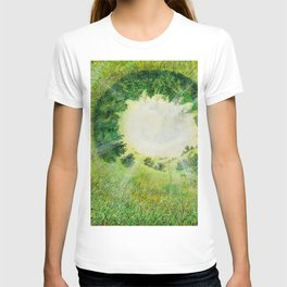 formation of nature T-shirt