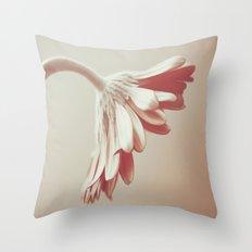 A single flower Throw Pillow