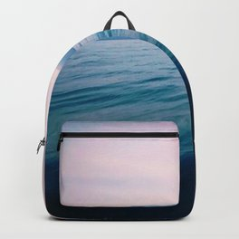 the lakes ripples Backpack