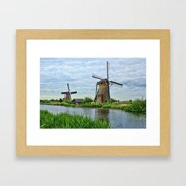 Ahh Yes The Netherlands  Framed Art Print