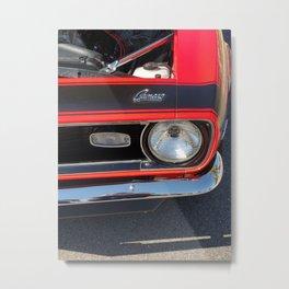 Camaro Head Metal Print