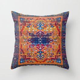 N86 - Vintage Boho Berber Moroccan Handmade Style Design. Throw Pillow