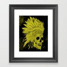 Kid Chief Framed Art Print