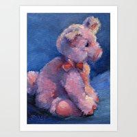 Small Piglet Art Print
