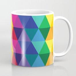 Geometric Galaxy - All the Colors of the Rainbow Coffee Mug
