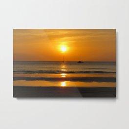 Heavenly ocean sunset Metal Print