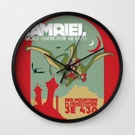 Morrowind - Cliff Racin'  Wall Clock