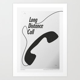 """The Twilight Zone"" Long Distance Call Art Print"