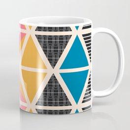 Triangle collage Coffee Mug