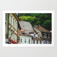 Germany on film II Art Print