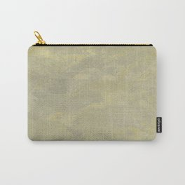 Modern Masters Metallic Plaster - Aged Gold and Silver Fox - Custom Glam Carry-All Pouch