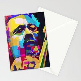 Charles Mingus Pop Art WPAP Stationery Cards