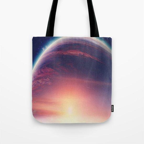 Jupiterian sunset Tote Bag