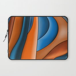 Lines Of Stained Glass Laptop Sleeve