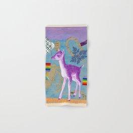 rainbow deer 2 Hand & Bath Towel