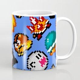 Super Mario World   Enemies Pattern Coffee Mug
