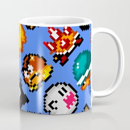 Super Mario World | Enemies Pattern Coffee Mug