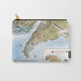 Cape Horn - Exploration AD 1616 Carry-All Pouch