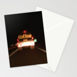 C - Coffee Tanker Stationery Cards