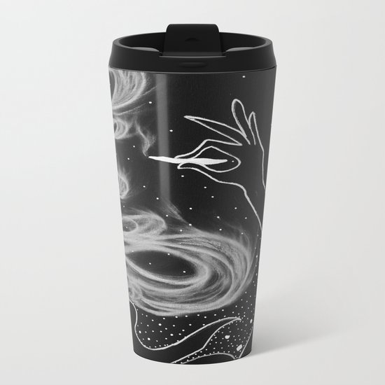 Midnight Toker (#3), Smoking Lady Series Metal Travel Mug