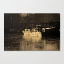 Working Barge Canvas Print