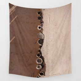 rotated rustic roof Wall Tapestry