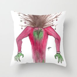 TreeMan's Christmas  Throw Pillow