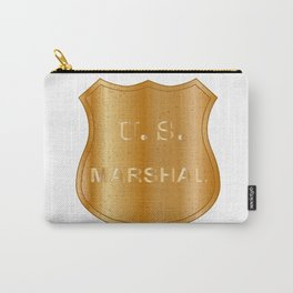 United States Marshal Shield Badge Carry-All Pouch
