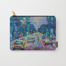 Streets of San Francisco - modern urban city landscape at sunrise by Adriana Dziuba Carry-All Pouch