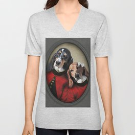 Hound Love Unisex V-Neck