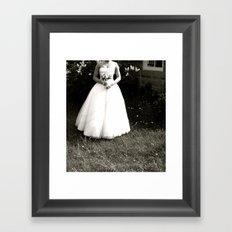 WHITEOUT : Alone Framed Art Print