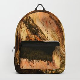 Yellow Rocks Of The Yellowstone Valley Backpack
