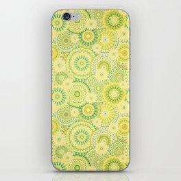 Mandala 184 (Floral) iPhone Skin