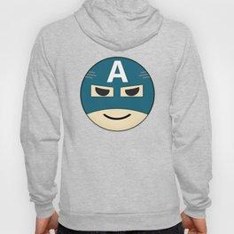 Captian A Emoji Hoody