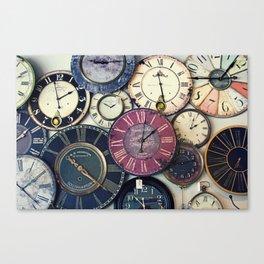Ticking Away Canvas Print