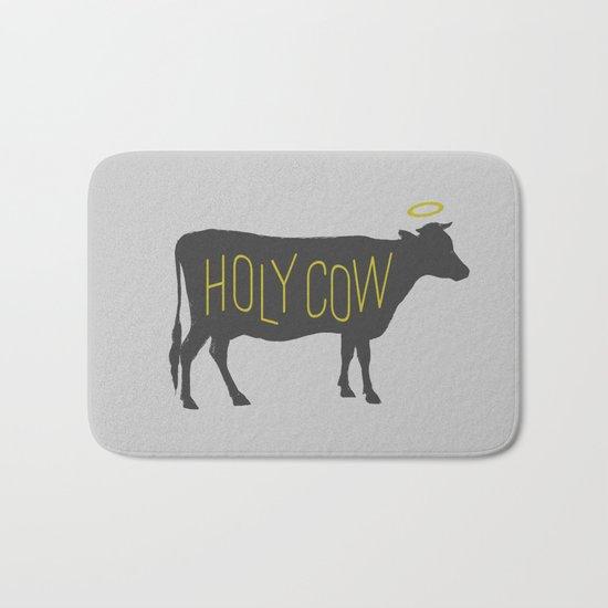 Holy Cow! Bath Mat