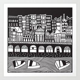 Brighton, England Art Print