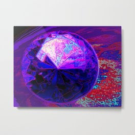 Abstract Precious 3 Metal Print