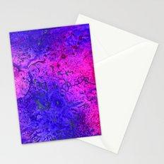 Pink and Blue Nebula Stationery Cards
