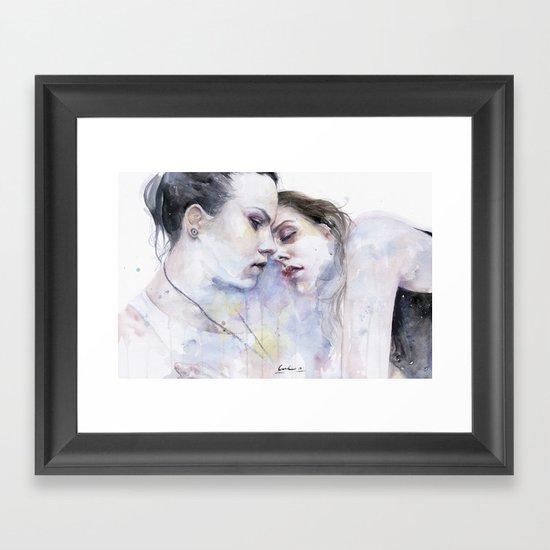 xx Love Framed Art Print