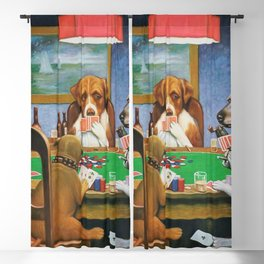 A FRIEND IN NEED - C.M. COOLIDGE Blackout Curtain