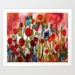 Hope and Joy Springing Up Art Print