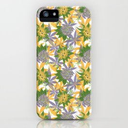 Mellow yellow and purple haze iPhone Case