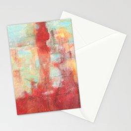 Ascension, Abstract Art Painting Stationery Cards