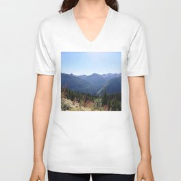 Serenity of the mountains Unisex V-Neck