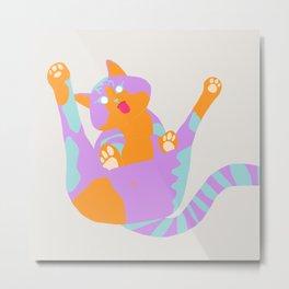 Blep Boop Meow Metal Print