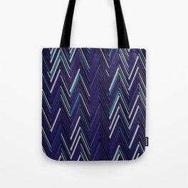 Abstract Chevron Tote Bag