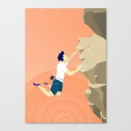 Boulder Jump Canvas Print