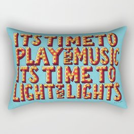 Its Time To Play The Music Rectangular Pillow
